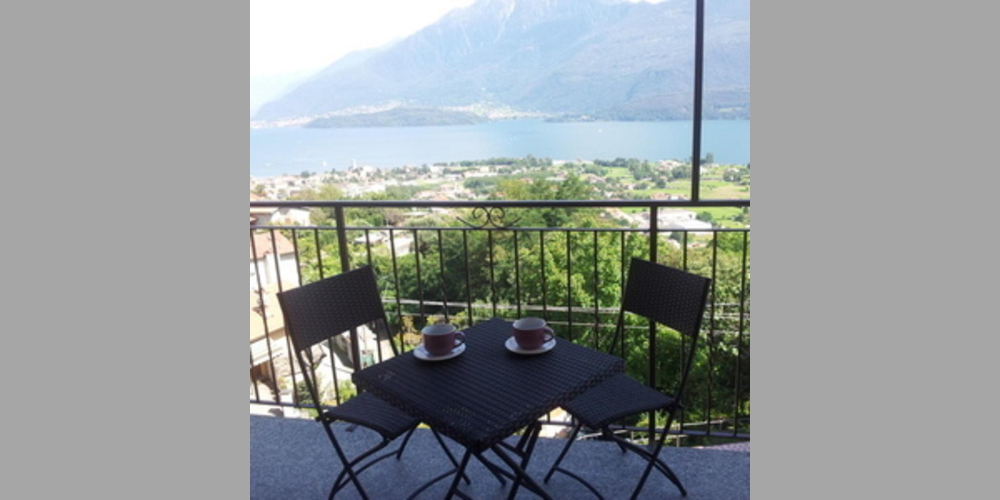 Ferienwohnung Gravedona - Vista Lago A Gravedona