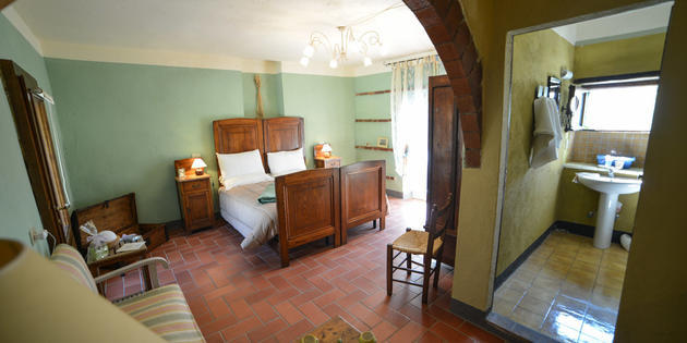 Ferienbauernhof Lisciano Niccone - In Villa Vicino Lago Trasimeno