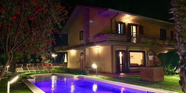 Ferienwohnung Trecastagni - Etna Villa Alba Chiara