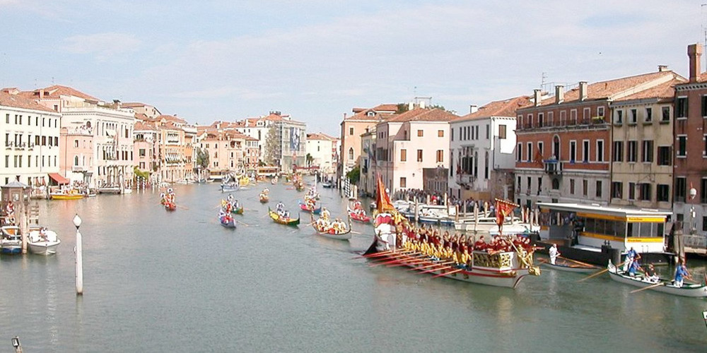 The Historical Regatta in Venice